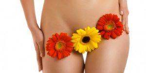 цветы на теле